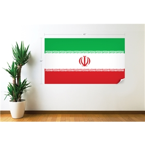 Iran Flag Wall Decal