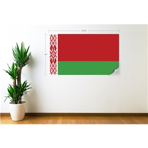 Belarus Flag Wall Decal