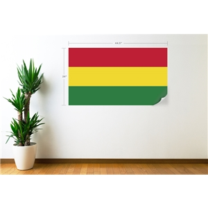 Bolivia Flag Wall Decal