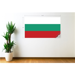 Bulgaria Flag Wall Decal