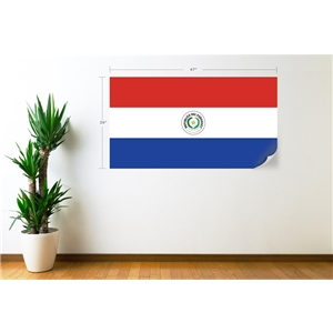 Paraguay Flag Wall Decal