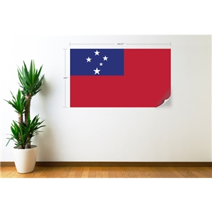 Samoa Flag Wall Decal