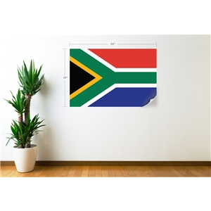 South Africa Flag Wall Decal