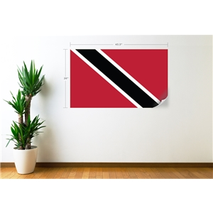 Trinidad & Tobago Flag Wall Decal