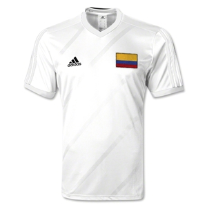 Colombia Tabela 14 Jersey (White)
