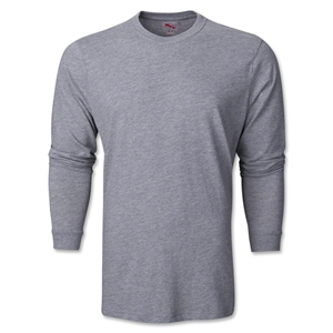 PUMA City Long Sleeve Blank T-Shirt (Gray)