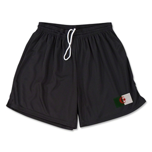 Algeria Team Soccer Shorts (Black)