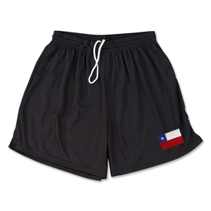 Chile Team Soccer Shorts (Black)