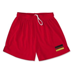 Germany Team Soccer Shorts (Red)