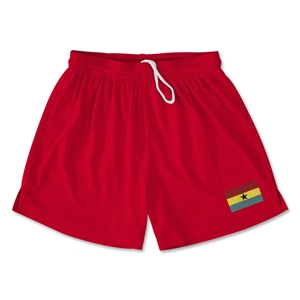 Ghana Team Soccer Shorts (Red)