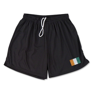 Cote d'Ivoire Team Soccer Shorts (Black)