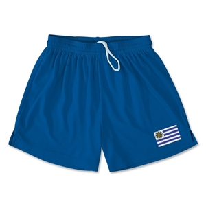 Uruguay Team Soccer Shorts (Royal)