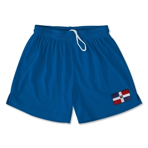 Dominican Republic Team Soccer Shorts (Royal)