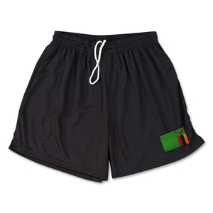 Zambia Team Soccer Shorts (Black)