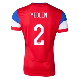 USA 14/15 YEDLIN Authentic Away Soccer Jersey