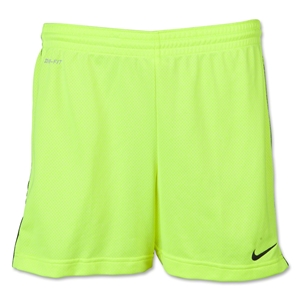 Nike Women's Academy Knit Short (Neon Yellow)