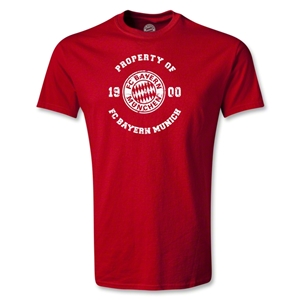 Bayern Munich Distressed Property T-Shirt (Red)