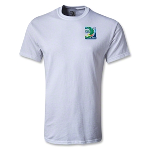 FIFA Confederations Cup 2013 Small Emblem T-Shirt (White)