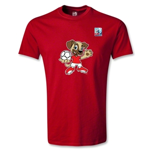 FIFA Men's U20 World Cup 2013 Mascot T-Shirt (Red)