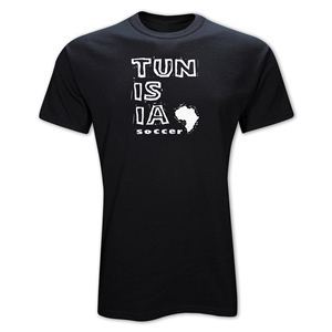 Tunisia Country T-Shirt (Black)