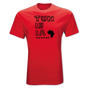 Tunisia Country T-Shirt (Red)