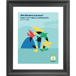 Belo Horizonte 2014 FIFA World Cup Host City Framed Print