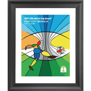 Brasilia 2014 FIFA World Cup Host City Framed Print