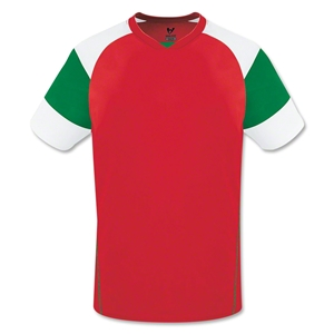 High Five Mundo Jersey (Red/Grn)