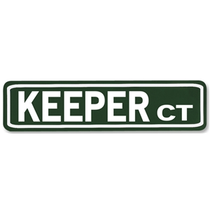 Keeper Court Street Sign