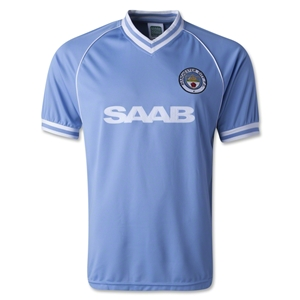 Manchester City 1982 Home Jersey