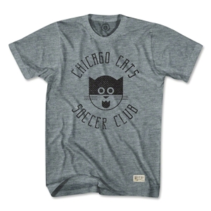 Objectivo Chicago Cats T-Shirt (Gray)