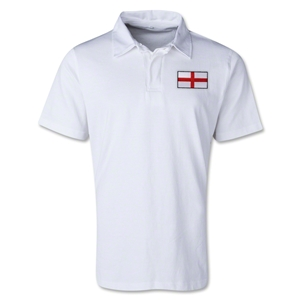 England Retro Flag Shirt (White)