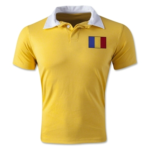 Romania Retro Flag Shirt (Yellow)
