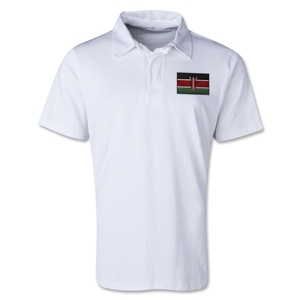 Kenya Retro Flag Shirt (White)
