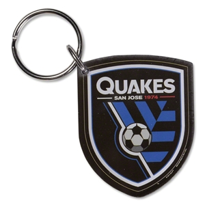 San Jose Earthquakes Acrylic Keyring