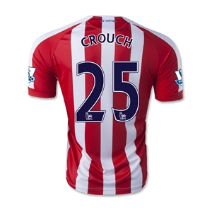 Stoke City 14/15 CROUCH Home Soccer Jersey