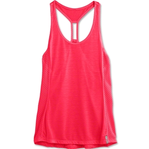 Under Armour Fly-By Stretch Mesh Tank (Magenta)