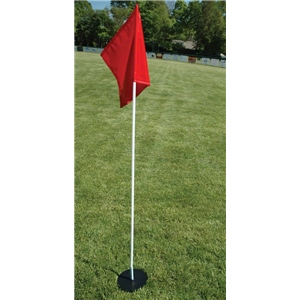 Goal Sporting Goods Corner Flags with Laser Cut Base