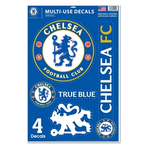 Chelsea 11x17 Decal