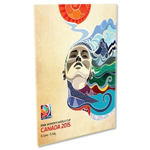 FIFA Women's World Cup Canada 2015 Official Poster Acrylic
