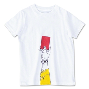 Red Card Youth T-Shirt (White)