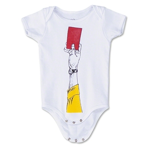 Red Card Infant Onesie (White)