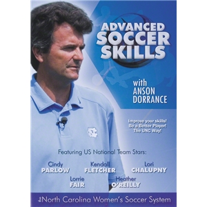 Advanced Soccer Skills with Anson Dorrance DVD