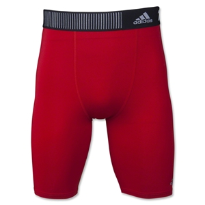 adidas Base TechFit 9 Short Tight (Red)