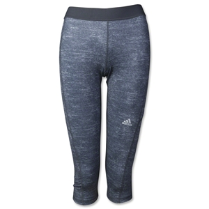 adidas Women's TechFit Capri Tight (Dk Grey)