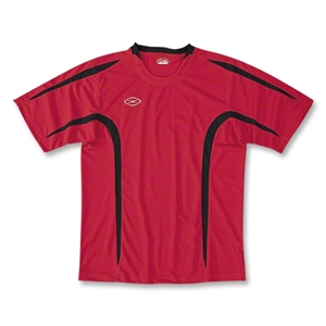 Xara Goodison Soccer Team Jersey (Red/Blk)