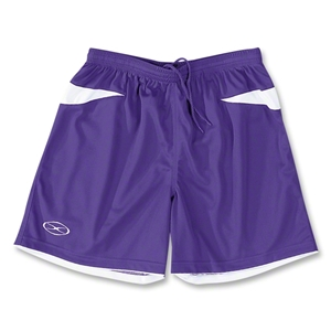 Xara Goodison Soccer Team Shorts (Pur/Wht)
