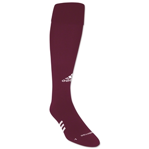 adidas ForMotion Elite NCAA Socks (Maroon/Wht)