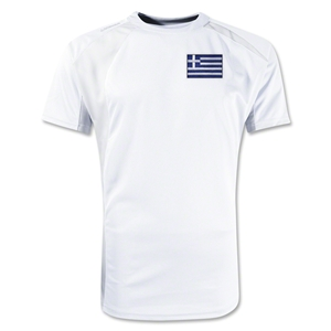 Greece Gambeta Soccer Jersey (White)