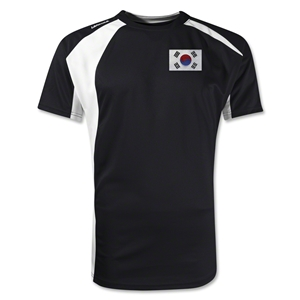 South Korea Gambeta Soccer Jersey (Black)